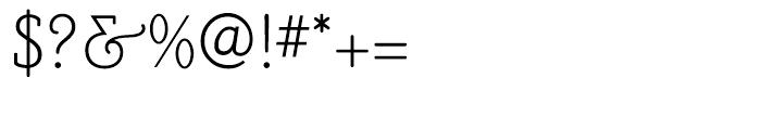 PoorRichard Monoline Font OTHER CHARS
