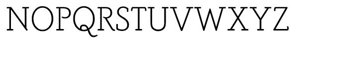 PoorRichard Monoline Font UPPERCASE