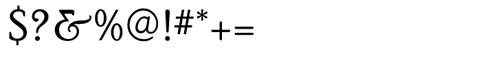 PoorRichard Regular Font OTHER CHARS