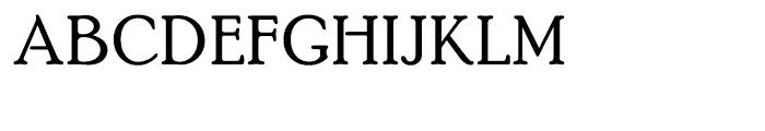 PoorRichard Regular Font UPPERCASE