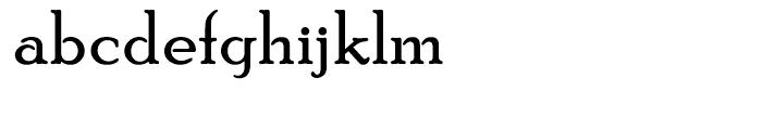PoorRichard Regular Font LOWERCASE