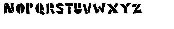 Poozer Regular Font UPPERCASE