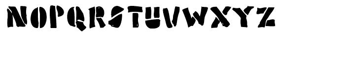 Poozer Regular Font LOWERCASE