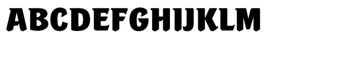 Portobello Extra Bold Font UPPERCASE