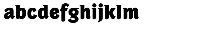 Portobello Extra Bold Font LOWERCASE