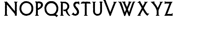 Possum Saltare NF Regular Font UPPERCASE