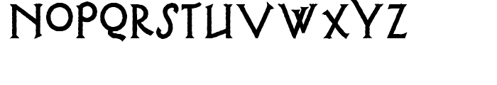 Possum Saltare NF Regular Font LOWERCASE