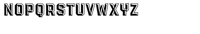 PowerStation Block Font LOWERCASE