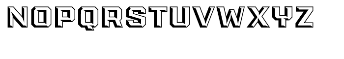 PowerStation Wedge Wide Font LOWERCASE