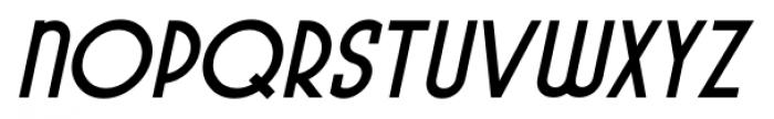 Pocatello JNL Bold Oblique Font UPPERCASE