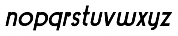 Pocatello JNL Bold Oblique Font LOWERCASE