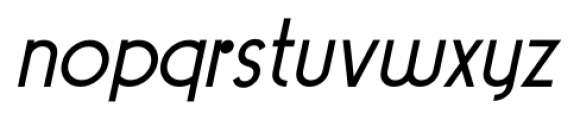 Pocatello JNL Oblique Font LOWERCASE