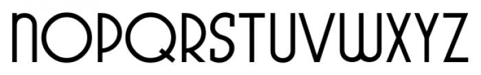 Pocatello JNL Regular Font UPPERCASE