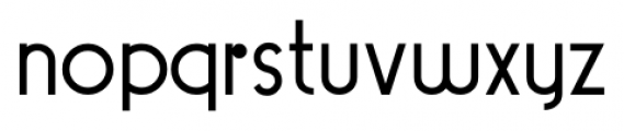 Pocatello JNL Regular Font LOWERCASE