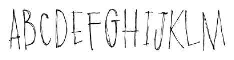 Poison Ivy Regular Font UPPERCASE