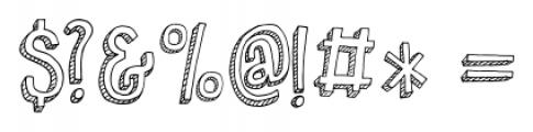 Pondicherry Regular Font OTHER CHARS