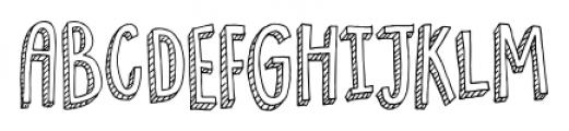 Pondicherry Regular Font UPPERCASE