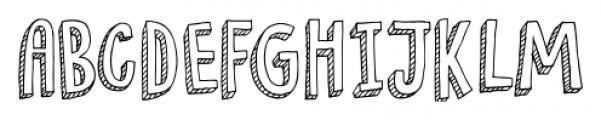 Pondicherry Regular Font LOWERCASE