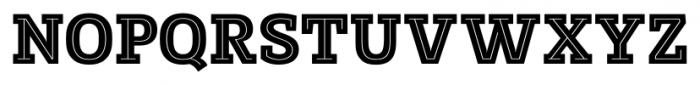 Posterizer KG Inline Regular Font UPPERCASE