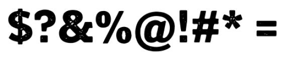 Posterizer KG Rough Regular Font OTHER CHARS
