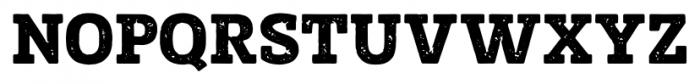 Posterizer KG Rough Regular Font UPPERCASE