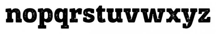 Posterizer KG Rough Regular Font LOWERCASE