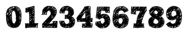 Posterizer KG Sketch Regular Font OTHER CHARS