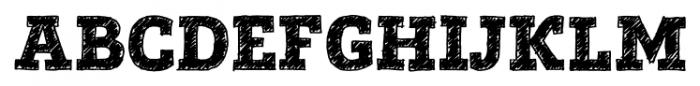 Posterizer KG Sketch Regular Font UPPERCASE