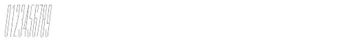 PODIUM Sharp 1.1 italic Font OTHER CHARS