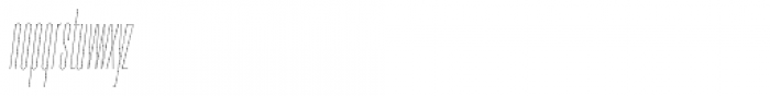 PODIUM Sharp 1.1 italic Font LOWERCASE