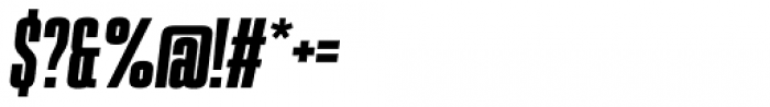 PODIUM Sharp 1.10 italic Font OTHER CHARS