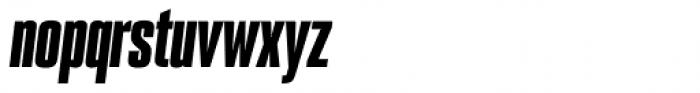 PODIUM Sharp 1.10 italic Font LOWERCASE