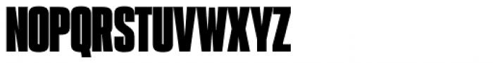 PODIUM Sharp 1.12 Font UPPERCASE
