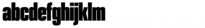 PODIUM Sharp 1.12 Font LOWERCASE