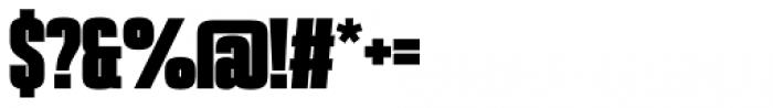 PODIUM Sharp 1.13 Font OTHER CHARS