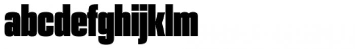 PODIUM Sharp 1.13 Font LOWERCASE