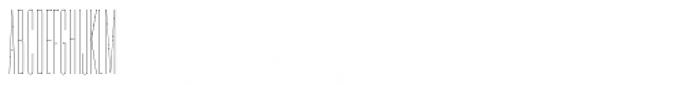 PODIUM Sharp 1.1 Font UPPERCASE