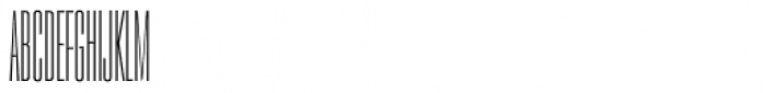 PODIUM Sharp 1.4 Font UPPERCASE