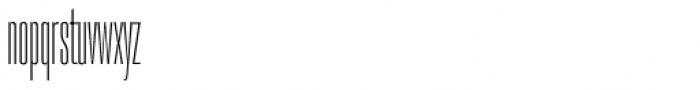 PODIUM Sharp 1.4 Font LOWERCASE