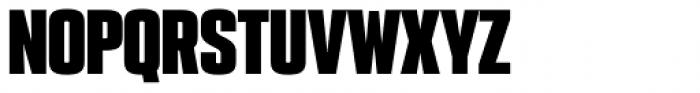 PODIUM Sharp 2.12 Font UPPERCASE