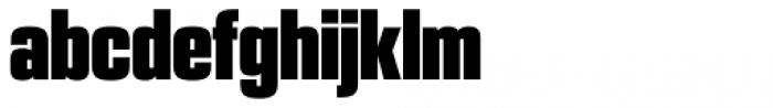 PODIUM Sharp 2.12 Font LOWERCASE