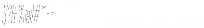 PODIUM Sharp 2.2 italic Font OTHER CHARS