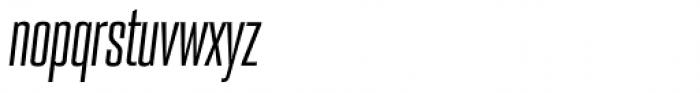 PODIUM Sharp 2.6 italic Font LOWERCASE