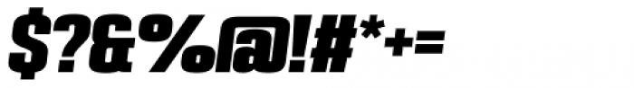 PODIUM Sharp 3.12 italic Font OTHER CHARS