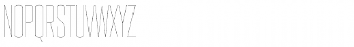 PODIUM Sharp 3.1 Font UPPERCASE