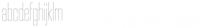 PODIUM Sharp 3.1 Font LOWERCASE