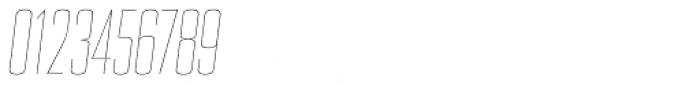 PODIUM Sharp 3.2 italic Font OTHER CHARS