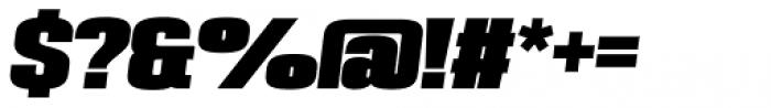 PODIUM Sharp 4.13 italic Font OTHER CHARS