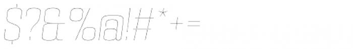 PODIUM Sharp 5.1 italic Font OTHER CHARS