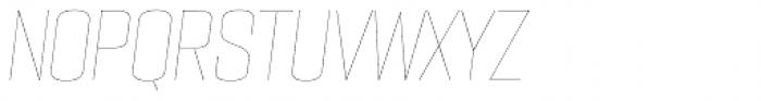 PODIUM Sharp 5.1 italic Font UPPERCASE